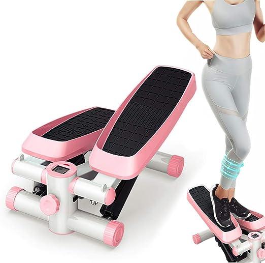 Mini Escalera Paso A Paso Fitness Hidráulico Hogar Silencioso Twist Waist Fitness Aerobic Fitness Stepper para Principiantes Adecuado para Sala De Estar, Oficina, Gimnasio: Amazon.es: Hogar