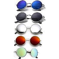 ELLIGATOR Combo of Unisex Sunglasses (Multicolour)
