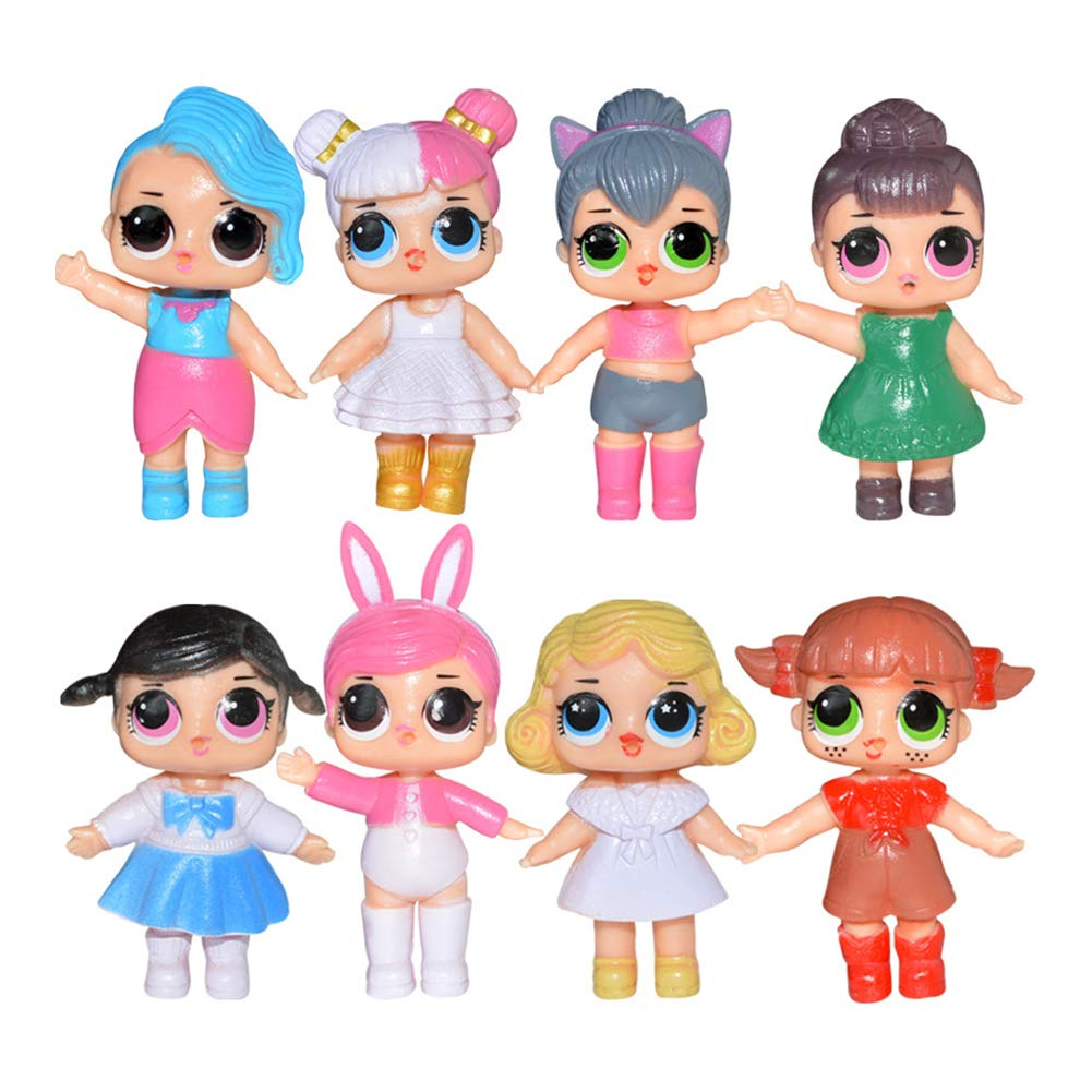 Inciple Lol Surprise Doll Handmade Doll Toy Ornaments Handmade