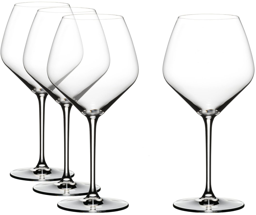 Riedel Extreme Crystal Pinot Noir Wine Glass, Buy 3 Get 4 Glasses