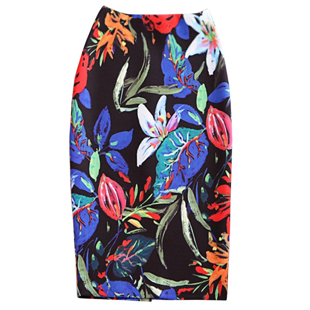 WDPL Women's Knee Length Pencil Mermaid Evening Skirt WDPL201608180000