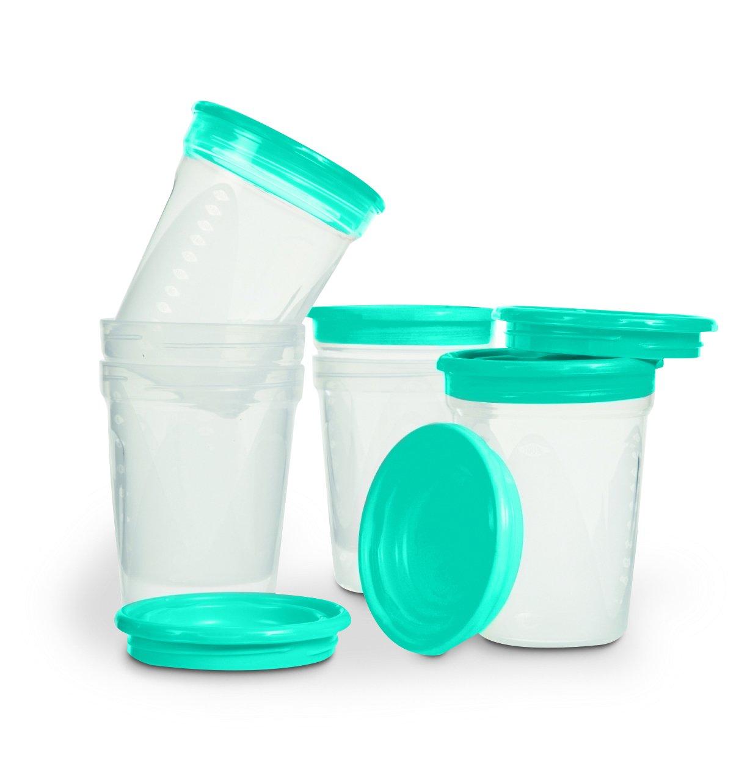 NUK Set de 6 Pots de Conservation ALLO3 3159921219750