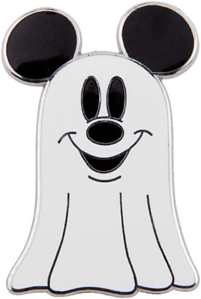 DISNEY MICKEY MOUSE GHOST WITH EARHAT PIN