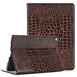 iPad case for iPad Pro 9.7,Vacio Luxury Book Style PU Leather Folio Stylish Stand Case Cover for iPad Pro 9.7 (Brown)