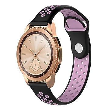Amazon.com: HUVE Samsung Galaxy Watch 42mm Band/Gear Sport ...