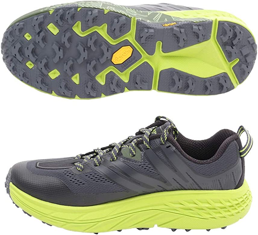 HOKA ONE ONE, SPEEDGOAT 3, Ebony/Black, 42 EUR: Amazon.es: Zapatos y complementos