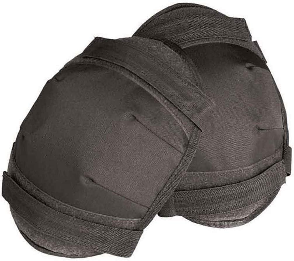 Mil-Tec British Army Style Knee Pads Black