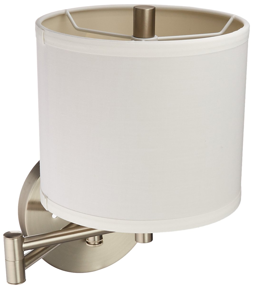 Galaxy Lighting 213041BN Ansley Swing Arm Wall Sconce, Brushed