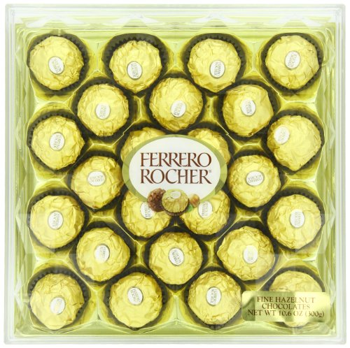 Ferrero Rocher Gift Box, 24 Count