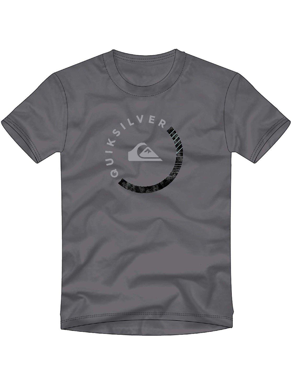 Quiksilver Men's Logo Tee Shirt, Slab Session Quiet Shade, M