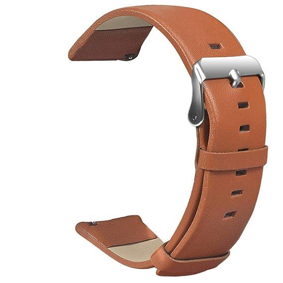 Correa de Piel para Reloj de Repuesto para Xiaomi Huami AMAZFIT 2/2S
