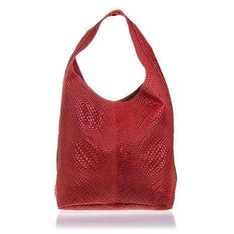 d29c3e6399 Borsa shopping bag da donna vera pelle.Borsa pelle genuino panno incisione