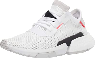 pasta Kilómetros Por el contrario  Amazon.com | adidas POD-S3.1 J Big Kids' Shoes Foortwear  White/Footwear/Shock Red db2875 (4 M US) | Running