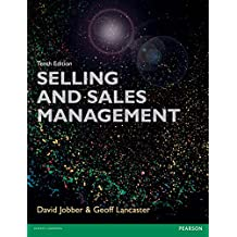 Selling and Sales Management 10th edn (Foundation Studies in Law Series)