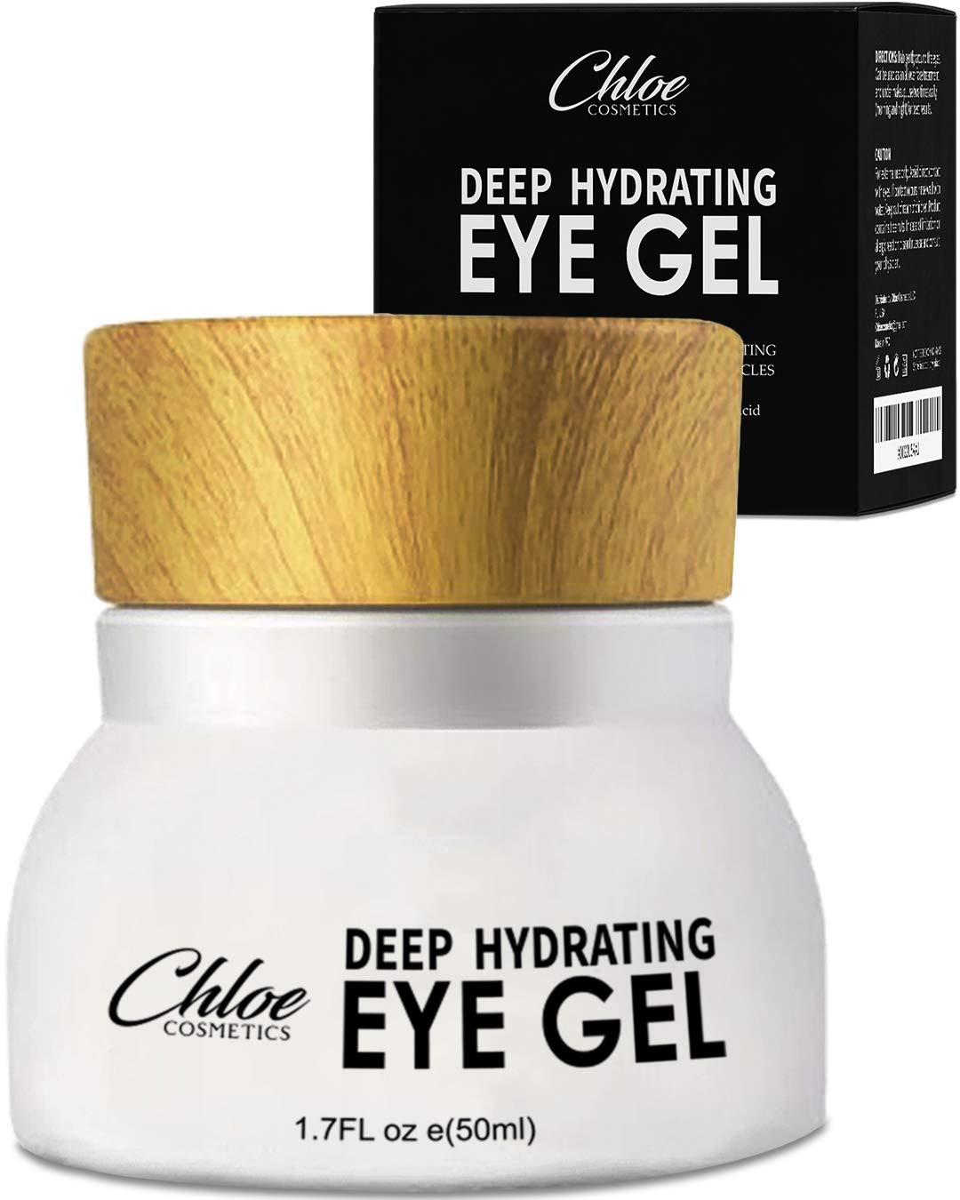 Eye Cream For Dark Circles and Puffiness - Anti Aging Wrinkle Remover Eye Gel - Under Eyes Treatment for Men and Women by Chloe Cosmetics