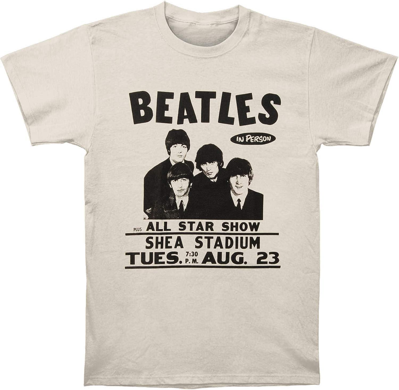 Skyey Camiseta para Hombre The Beatles The Live at Shea ...