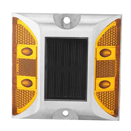 Roadway Safety Casting Aluminum Road Stud Light Outdoor Solar Powered Lamp For Pathway Road High Quality
