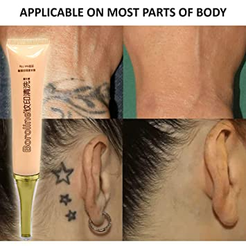 Crema de eliminación de tatuajes permanente No es necesario ...