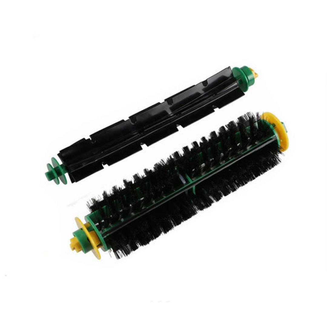 Fulltime® Bürste und flexible Schlagbürste Ersatz für Irobot Roomba 500 564 52708 56708 Serie Staubsauger Ersatzteil-Kit Fulltime®