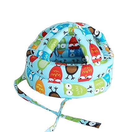 AOLVO - Casco de Seguridad para bebé, sin Golpes, capuchón para el Parachoques,