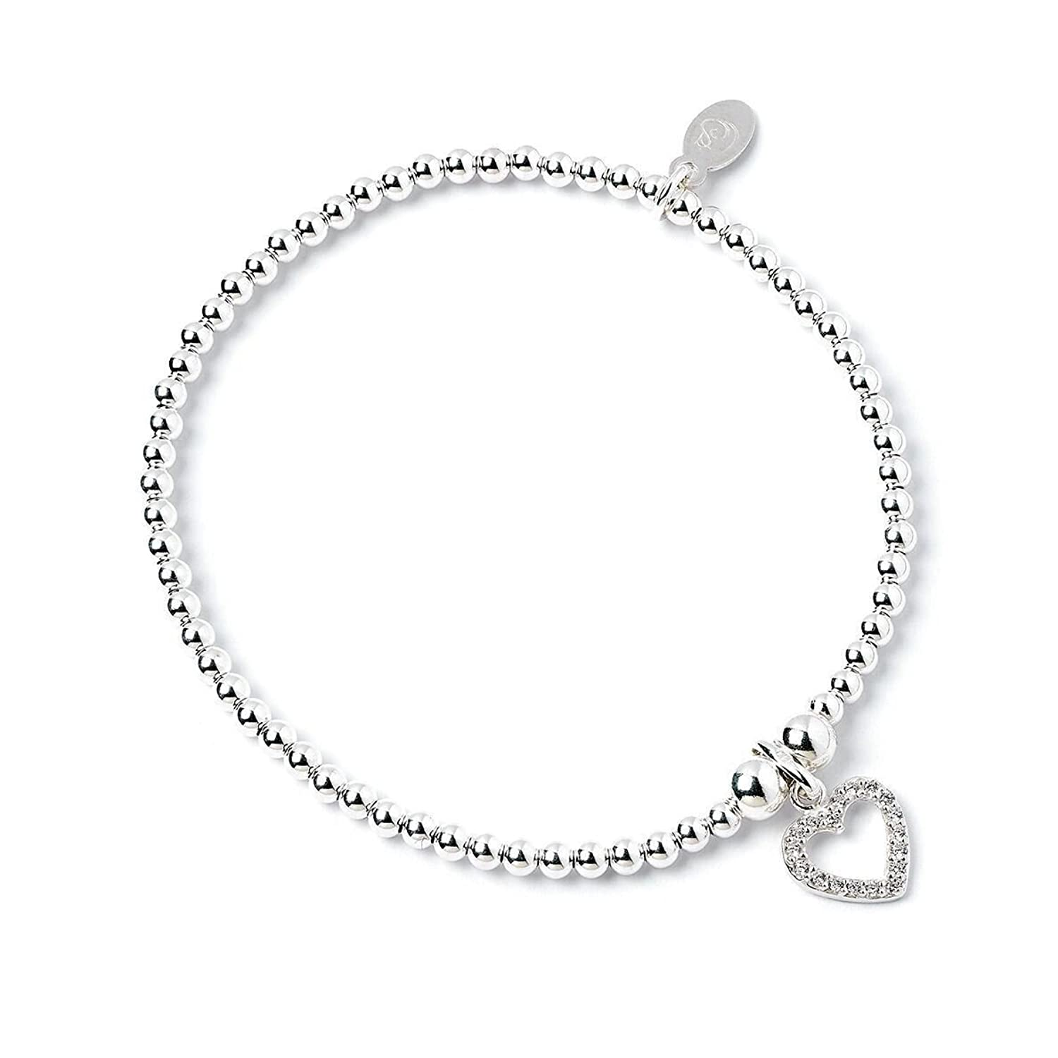 Roodles Sterling Silver Child Bracelet with Unicorn Charm