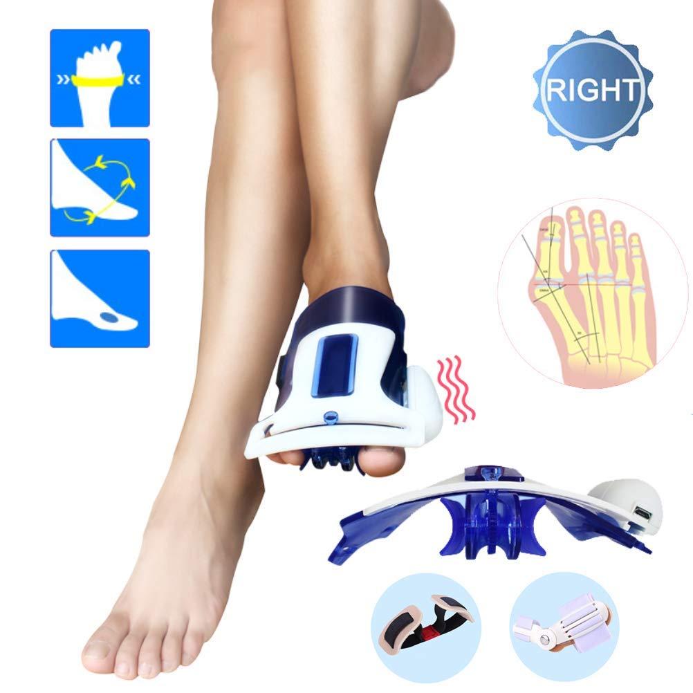 CXDM Bunion Splints Big Bones Hallux Valgus Orthosis Pain Relief and Orthopedic Rehabilitation Unisex Bunion Corrector,Blue,Right by CXDM