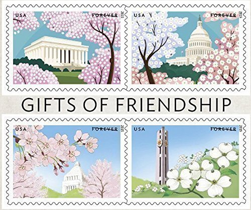 2015 Gifts of Friendship Sheet of 12 Forever Stamps (Japan Joint Issue) Scott 4982 By USPS ()