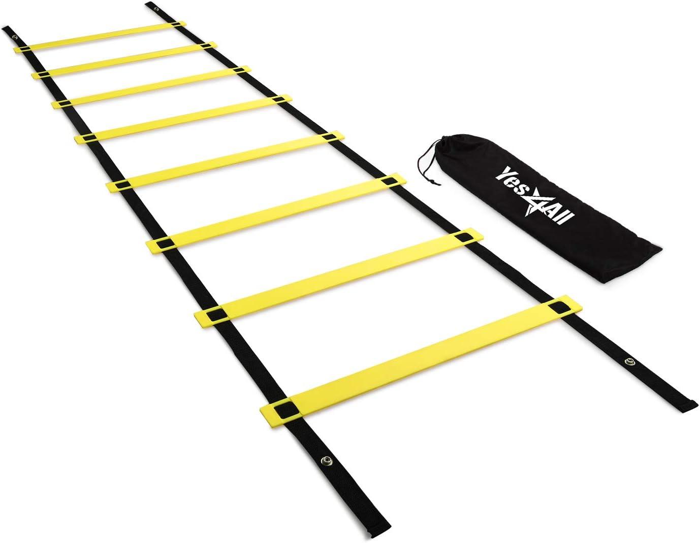 Yellow SKLZ Quick Agility Training Ladder