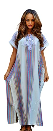 Beach caftan maxi dress