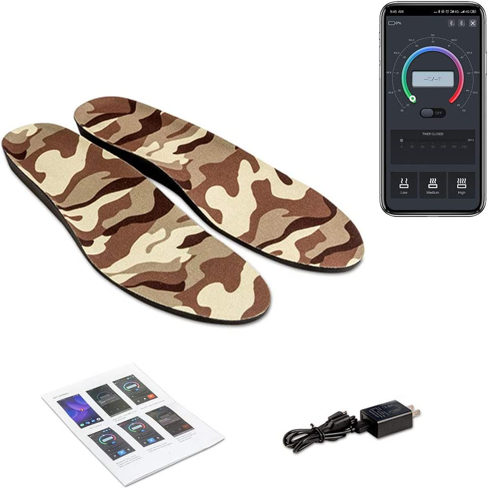 Details about  /USB Electric Heated Shoe Insoles  Feet Heater Foot Winter Warmer Pads Warm Socks