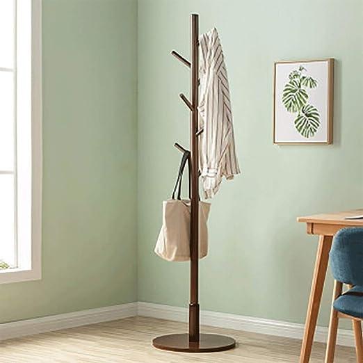 Amazon.com: Gaoye - Perchero de madera maciza para colgar ...