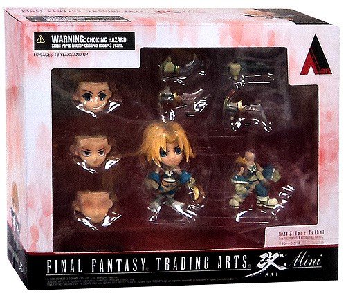 Square Enix Final Fantasy Trading Arts Kai Zidane Tribal JUL131994