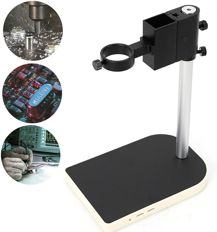 Microscope Table Stand Monocular Video Microscope Adjustable Boom Stereo Arm Table Stand 42 mm Ring Holder California Warehouse