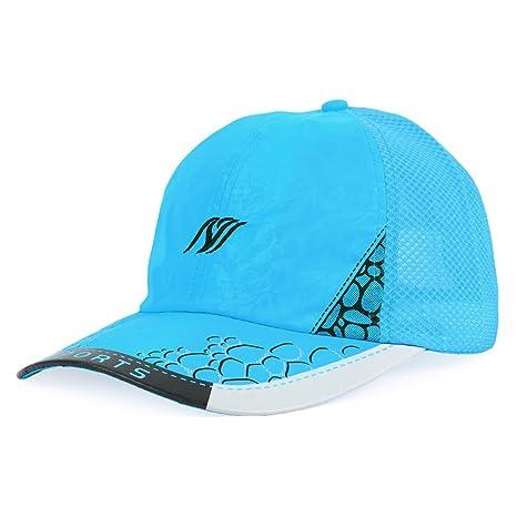 GHMM Cappelli estivi da uomo Cappelli sportivi da arrampicata Cappelli da  turismo leggeri Cappucci in mesh 8126117d6c31