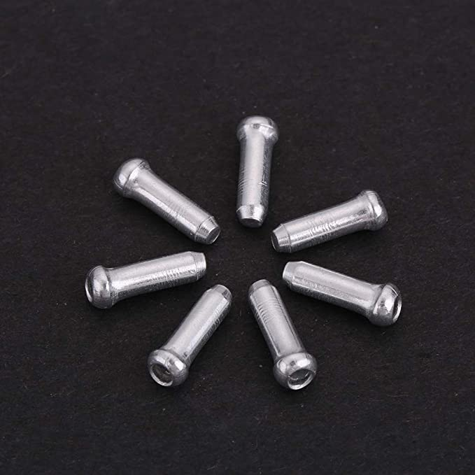 Bicycle Brake and Shift Cable-Colour-End Caps Tips 50pcs M4T8