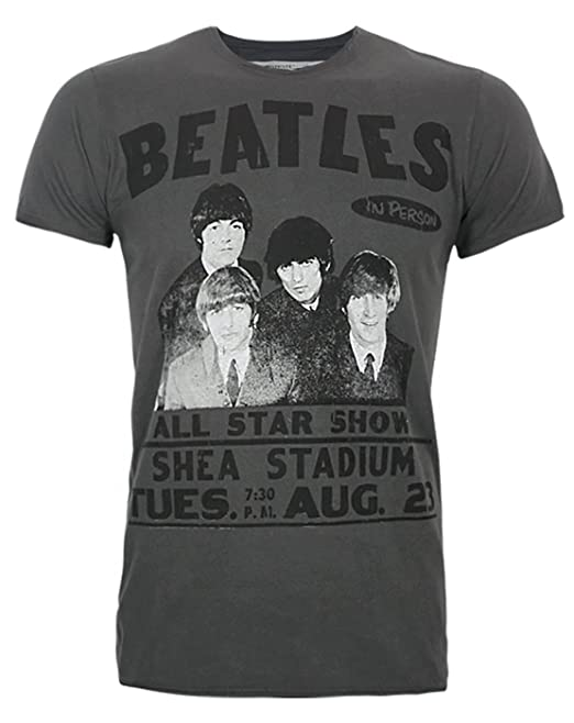 Amazon Camiseta Ropa The Clothing Hombres es Beatles Amplified Y wIqX6Sy