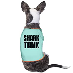 Cute Shark Tank Logo Pet Dog T Shirt.