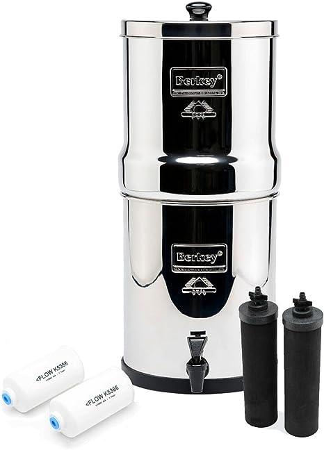 Royal Berkey purificadores de filtro de agua con 2 negro Elements ...