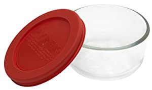 Pyrex Simply Store 1-cup Glass Food Storage Dish