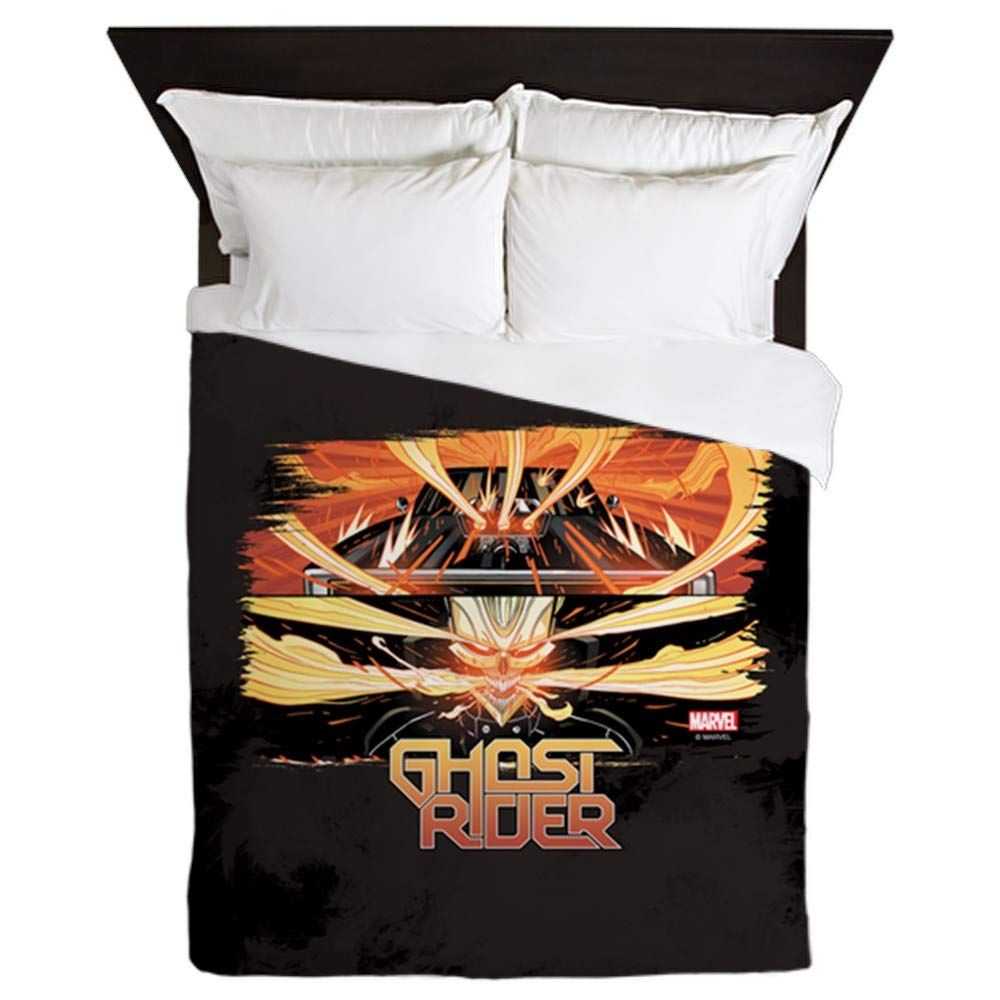 Amazoncom Cafepress Ghost Rider Brush Queen Duvet Cover Printed