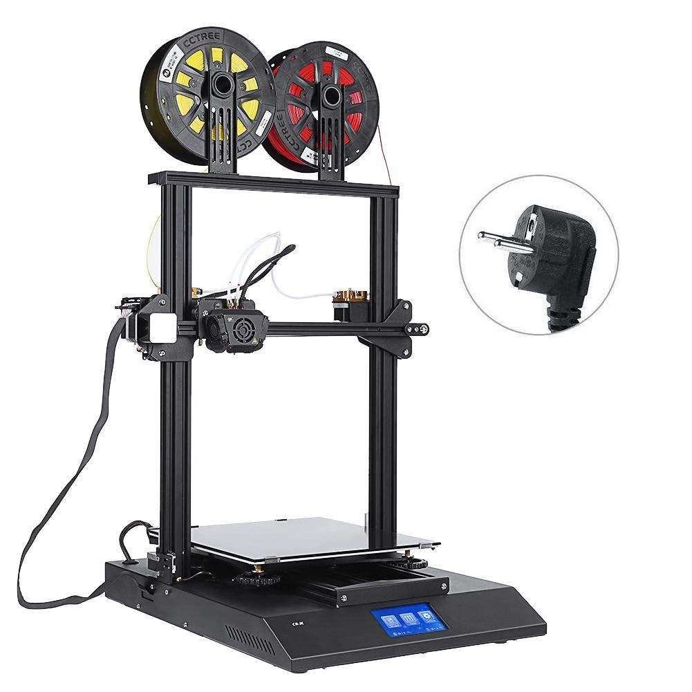 Zerone 3D-Drucker mit doppelter Farbe 3D-Drucker Kit FAI-da-Te 4,3 in Touch-Screen für 3D-Drucker