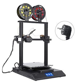 Zerone Impresora 3D de Doble Color Impresora 3D Kit ...