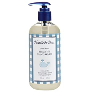 Noodle & Boo Healthy Hand Wash, Soap Free Gentle Healthy Hand Wash for Babies, Refill Size