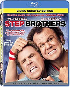 Step Brothers (Rated/Unrated) [Blu-ray] (Bilingual) [Import]