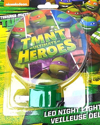 Teenage Mutant Ninja Turtles LED Night Light - TMNT Ultimate Heroes