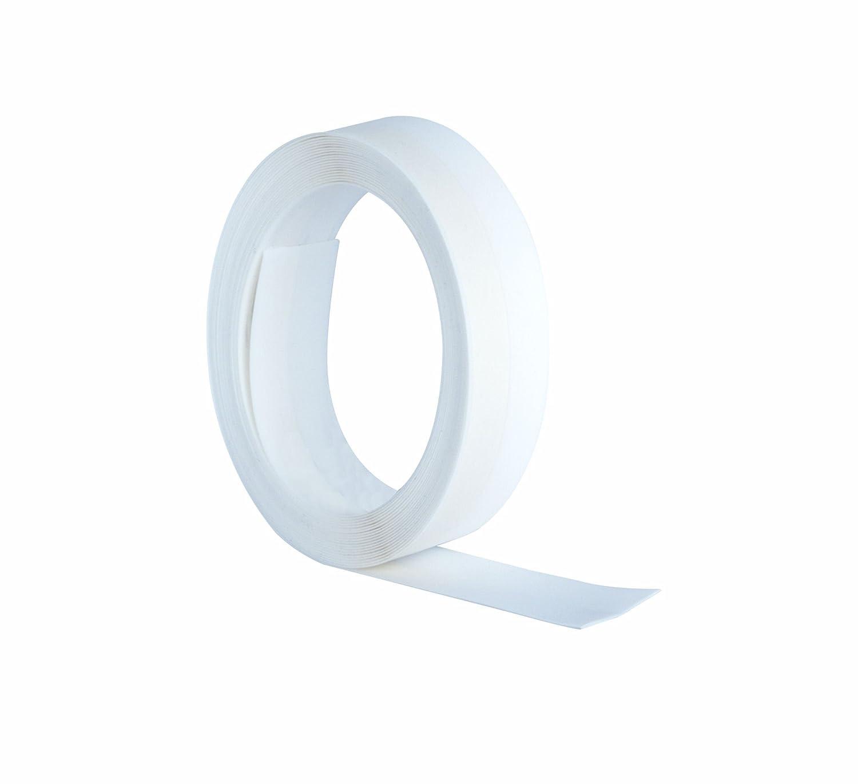Stormguard 05 am021005mw'V' sello autoadhesivo burlete cinta, blanco, 5 m, Set de 4 piezas 5m Set de 4piezas Srormguard 05AM021005MW