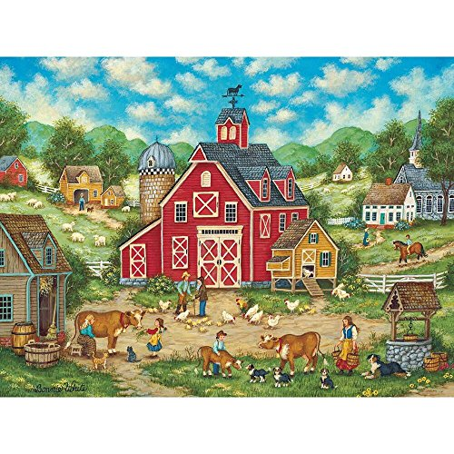 MasterPieces Heartland Collection New Friends Jigsaw Puzzle, 500-Piece (Masterpieces Puzzle 550pc)