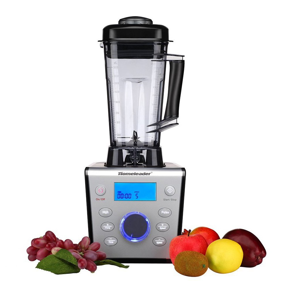 Homeleader Smoothie Blender, Professional High Speed Mixer, with A 70oz BPA-Free Container, Food Processor for Ice, Nuts &Batter, 9-Speeds, 1500W