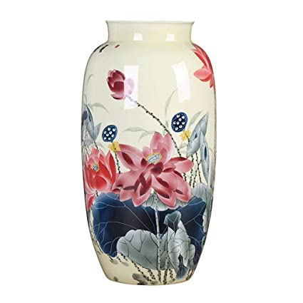 . Amazon com  SEEKSUNG Ceramic vase  Retro vase Creative Dried Flower