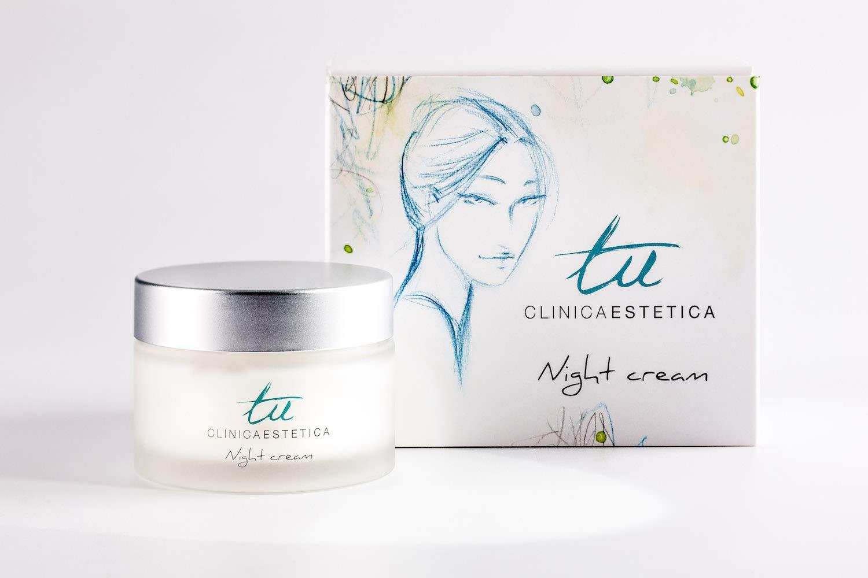 Tu Crema noche rostro antiarrugas hombre y mujer hidratante y antiedad para todo tipo de piel: Amazon.es: Belleza